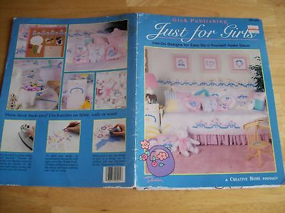Just For Girl's Iron-On Designs For Easy Home Decor