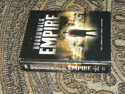 Boardwalk Empire The Complete First Season 1  Blu-ray DVD Digital Copy Thick Box