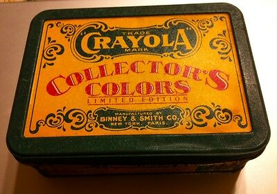 Crayola Collector's Colors Limited Edition Tin 72 Crayons (64 + 8 Retired)