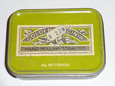 Vintage NAAFI STORES  for HM FORCES  Tin of Golden Virginia hand rolling Tobacco