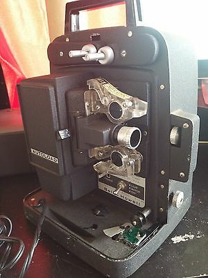 Vintage Bell and Howell Projector 256AB WORKS!