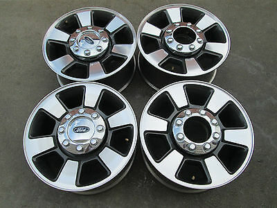 "18"" FORD F250 F350 SUPER DUTY FACTORY CHARCOLE WHEELS RIMS"