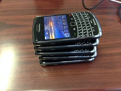 Lot of 5 BlackBerry Bold 9700 - Black - (Unlocked) Good Condition Smartphone