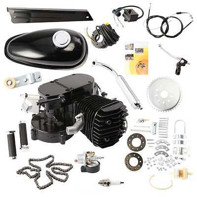 80Cc Motor De Gas Negro Motor 2 Stroke Cycle Bike Bicycle Motorized Engine Negro