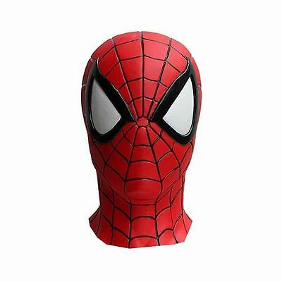 Spider-Man Full Face Rubber Mask Made in Japan