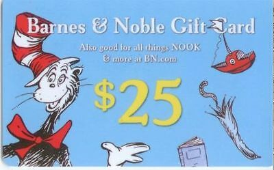 $25 Barnes and Noble Gift Card!