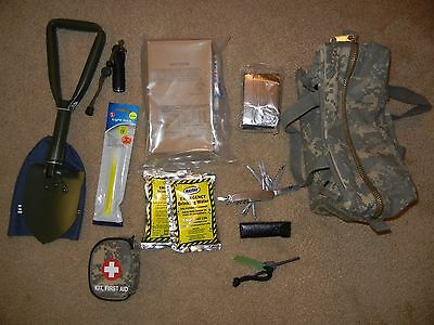 24 Hour Mechanical Tool Bag Survival Bug Out Kit Emergency Zombie Apocalypse