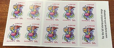 2007 signs of the zodiac Cancer stamps  (MUH)