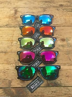 Childrens Kids Boys Girls Wayfarer Sunglasses Shades Bright Lenses Full Uv400