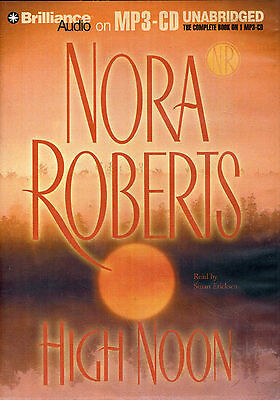 HIGH NOON by Nora Roberts Unab Audiobook  -  MP3