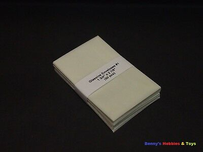 100 x New Glassine Envelopes Stamps Protective Envelopes (From Size #1 - #5)