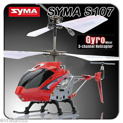 Genuine Syma S107 S107G 3CH Infrared RC Helicopter GYRO