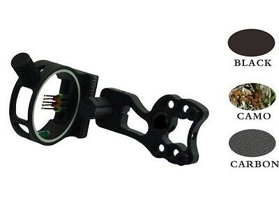 Archery bow sight 5 pin with sight light