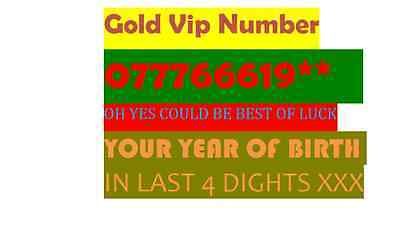 gold lucky easy vip number 07776661957 Lebara Sim Cards With £4.99 Preloaded