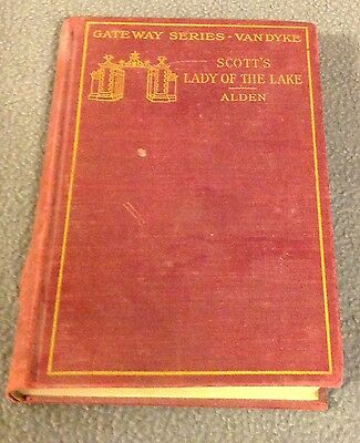 THE LADY OF THE LAKE by SIR WALTER SCOTT -Gateway Series -Copyright 1904