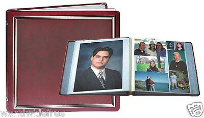 Pioneer PMV-206 Washable Endurahide Magnetic Photo Album & 2 Refill Packs