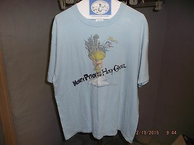 Rare Vintage Monty Python and the Holy Grail movie t shirt