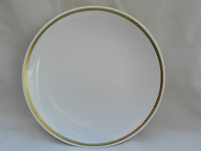 Royal Tuscan SOVEREIGN PLATE 23.5cm, Gold Band D2823.