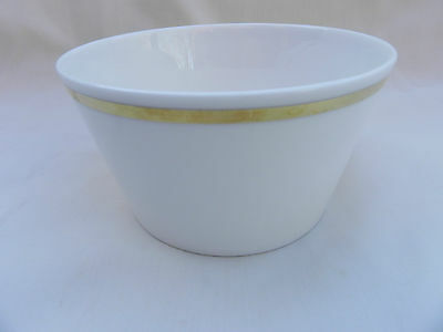 Royal Tuscan SOVEREIGN SUGAR BOWL 11cm x 6cm, Gold Band D2823 Excellent.