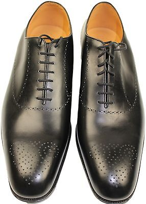 JM WESTON BLACK BOXCALF-11E UK/ 12 US-MADE IN FRANCE