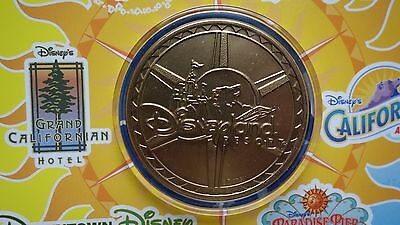 5 CAST EXCLUSIVE 2001 Disneyland California Adventure Grand Opening Medallion