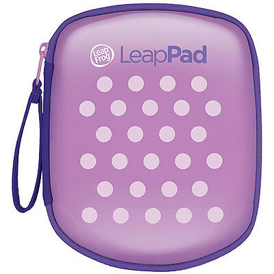LEAPFROG LEAPPAD EXPLORER CARRYING CASE PINK PURPLE POLKA DOT NEW FREE SHIPPING