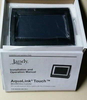 Jandy TCHLNK-WS Aqualink TouchLink RS Pool/Spa Surface Mount Wired Control