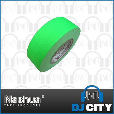 Nashua Neon511G48 Fluro Green Cloth Tape - 48mm Wide
