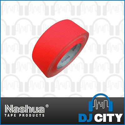 Nashua Neon511O48 Fluro Orange Cloth Tape - 48mm Wide