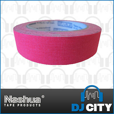 Nashua Neon511P24 Fluro Pink Cloth Tape - 24mm Wide