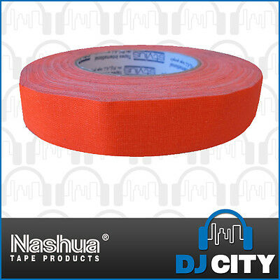 Nashua Neon511O24 Fluro Orange Cloth Tape - 24mm Wide