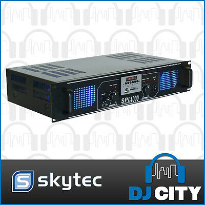 SPL1000MP3 Skytec 1000Watts Power Amp with MP3 Player PA DJ Band Amplifier