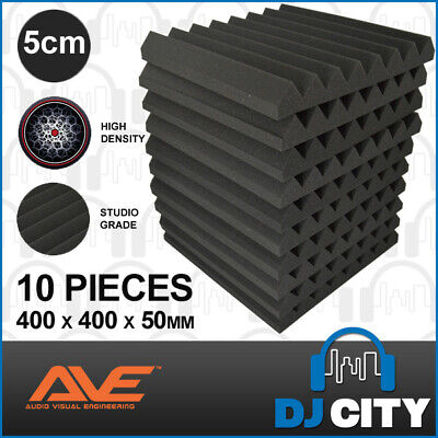 AVE IsoWave Acoustic Foam Treatment Pack Pro Studio Foam - 10 Panels