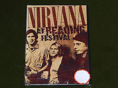 NIRVANA AT READING FESTIVAL 1992 LIVE DVD SEALED Alice In Chains Foo Fighters