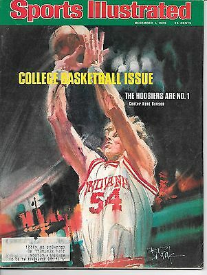 KENT BENSON SI Sports Illustrated Magazine April 6 1981 Hoosiers Are No. 1