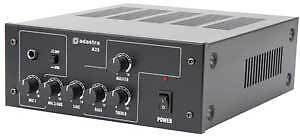 A25 Compact PA Amplifier Mixer 3 Channel 25W RMS Amp