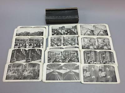 Complete Set of 50 Stereoview Cards, Sears & Roebuck Lot 707