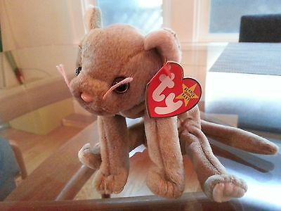 'Scat' the Cat Beanie Baby - MINT - RETIRED