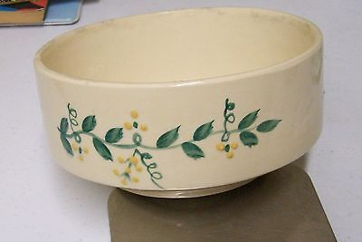 Brush McCoy Pottery Art Ware Collection Bowl Signed RM Rita McNeil