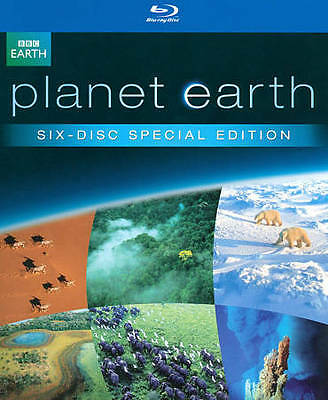 PLANET EARTH - THE COMPLETE COLLECTION * 6-DISC SET * BLU-RAY * NEW in BOX