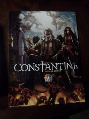 "DC Comics Constantine NBC Cardboard Promo 13"" x 10"" Poster (Total of 3)"