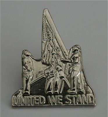 9/11/2001 911 WTC UNITED WE STAND LAPEL PIN WORLD TRADE CENTER NEW IN PACKAGE