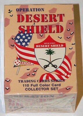 Desert Shield by Pacific Trading Cards. Complete 110 card sealed collectors set