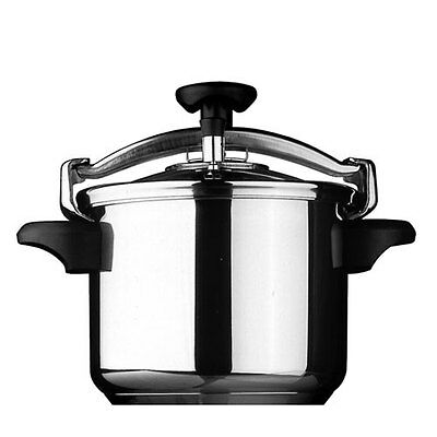 NEW Silampos Classic Stainless Steel Pressure Cooker 10L 25cm (RRP $279)