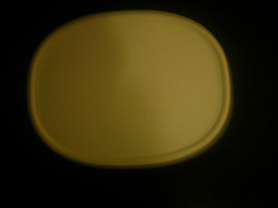 Corning Ware French White Oval Plastic Storage Lid F-2-PC fit 1.5 & 2.5 Qt