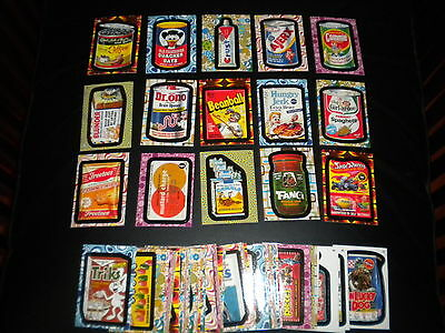 Complete Set of 72 Wacky Packages Flashback 2  Stickers Pack Mint  2008 Groovy