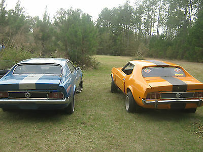 Ford : Mustang SOLID torque boxes, rear rails front rails... 1971 ford mustang grande a c blue or 1973 mustang 302 orange your choice of 1