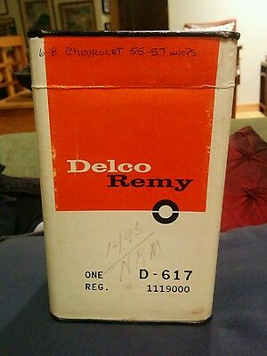 NOS! Delco VOLTAGE REGULATOR 1119000 D-617: 55-62 CHEVY TRUCK PONTIAC GMC & IHC