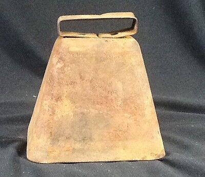 Vintage Cow Bell Antique Sheep Bells Old Iron Farm Primitive