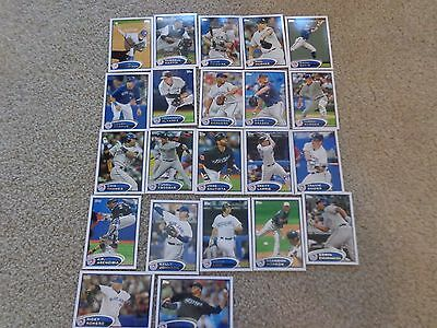 2012 Topps Series 1,2, New York Yankees Team Set  Cards Mint condition